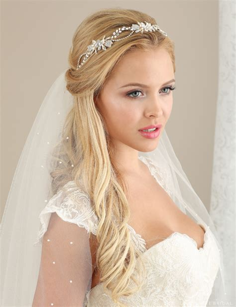 hair styles for indian weddings headbands hair ribbons bel aire bridal 6531