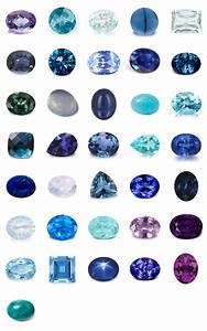 Pierres Précieuses Bleues : pierres fines et pr cieuses bleues et violettes ~ Nature-et-papiers.com Idées de Décoration
