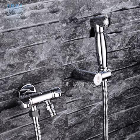 high  cold water  wall mount bidet faucet
