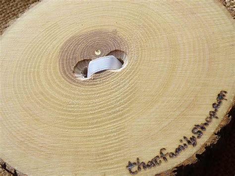 recessed heart ring bearer pillow with ribbon tie down rustic log rin thatfamilyshop com