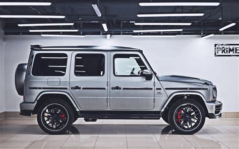 In this vehicles collection we have 20 wallpapers. Download wallpapers Mercedes-AMG G63, side view, tuning ...