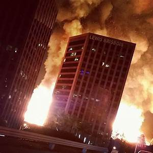 Fire rips through downtown Los Angeles apartment complex ...