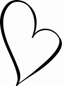 Small Black Heart Clipart - Clipart Suggest