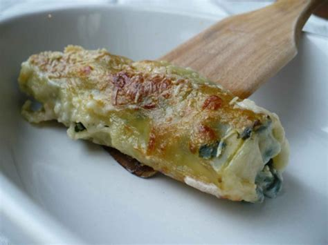 cuisiner epinards recette cannelloni aux épinards 750g