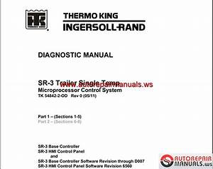 Thermo King Models Service Manual