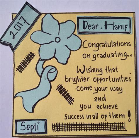 pola congratulation card kartu ucapan selamat  bahasa inggris soal terbaru