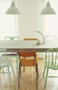 Quelle Couleur Avec Parquet Chene Clair : salle manger couleur vert d 39 eau et parquet ch ne clair ~ Voncanada.com Idées de Décoration