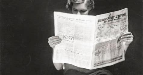 vintage everyday  lady reading newspaper