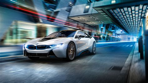Bmw I8 Coupe 4k Wallpapers by Bmw I8 Day White 4k Wallpaper Hd Car Wallpapers Id 8101