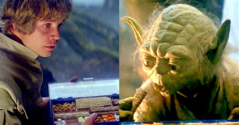 What Luke Was Really Eating on Dagobah in Empire Strikes Back