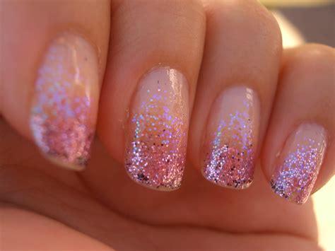 Christmas Glitter Nails