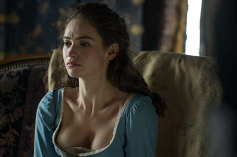 Naked Lily James In Pride And Prejudice And Zombies