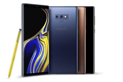 samsung galaxy note9 priced from rm3 699 liveatpc