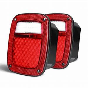 Jeep Yj  Cj  Tj Led Tail Lights