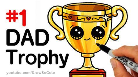 draw  trophy  dad  fathers day step  step