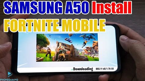 install fortnite mobile  samsung galaxy  youtube