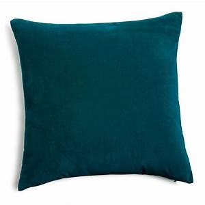 Coussin Velours Bleu : coussin en velours bleu canard 45x45 peacock blue living rooms and bedrooms ~ Teatrodelosmanantiales.com Idées de Décoration