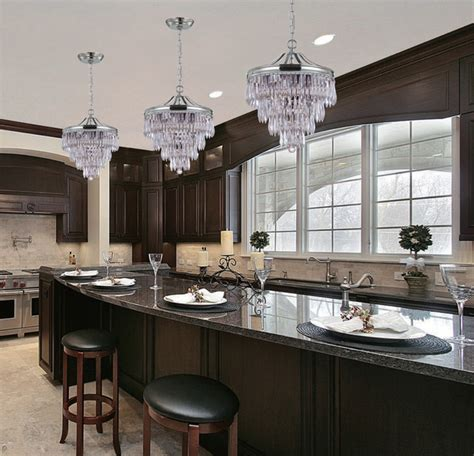 houzz lighting kitchen collection 3 light 12 quot polished chrome pendant 1740