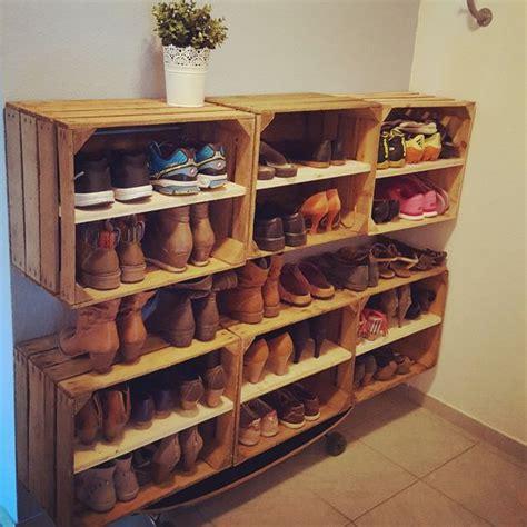 ᐅ Weinkisten Schuhregal  Obskisten Regale Für Schuhe