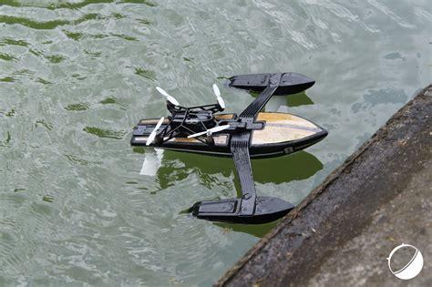 prise en main du parrot hydrofoil drone lhybride