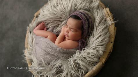 newborn baby photoshoot  studio  ana brandt
