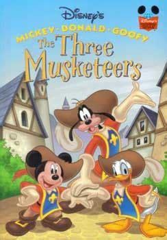 musketeers mickey donald goofy  walt disney