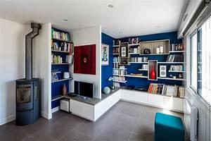 Bibliothèque Design Meuble : meuble tv design et sur mesure la compagnie des ateliers ~ Voncanada.com Idées de Décoration