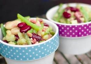 Was Fressen Grillen : drei bohnen salat mit warmer speckvinaigrette fressen und gefressen werden ~ Frokenaadalensverden.com Haus und Dekorationen