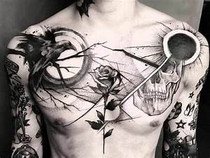 125 Chest Tattoos For Men  U0026 Things To Know Before Getting
