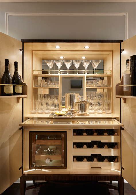 kitchen bar cabinet residence south kensington fiona