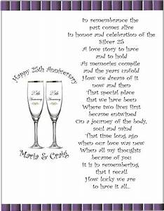 75th wedding anniversary poems 25th anniversary ideas With 25th wedding anniversary poems