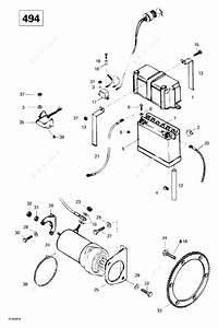 Ski Doo 1999 Skandic Wide Track - Lc  Electrical System  494