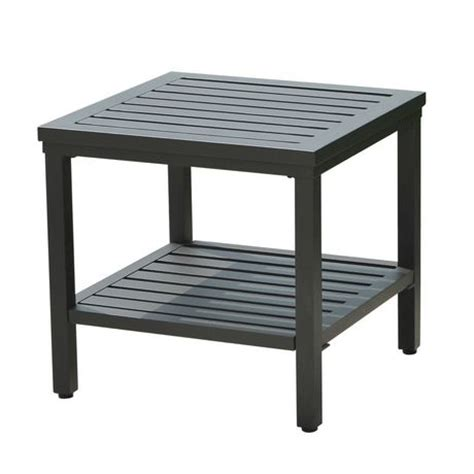 Patio Side Tables At Walmart by Sunjoy Side Table Patio Furniture Walmart Ca