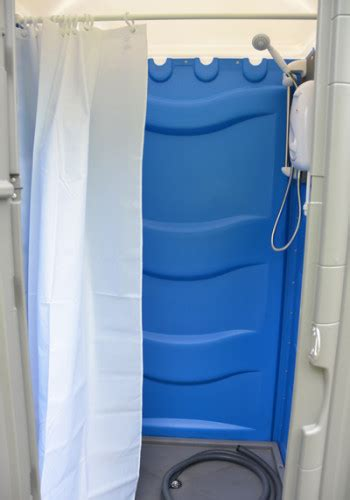 Mains Shower by Mains Shower Hire Single And Mains Shower Block Hire For