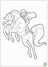 Coloring Pages Horseland Dinokids Ranch Saddle Ridge Popular Close sketch template