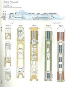 deck plan grand princess
