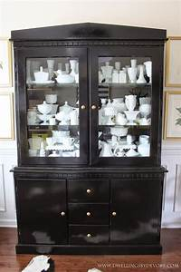 Best 25 Black China Cabinets Ideas On Pinterest Black