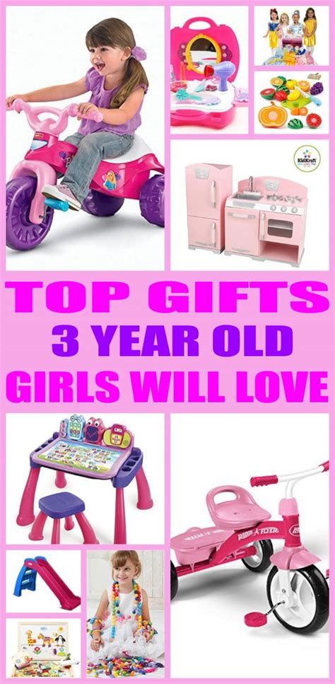 Best Gifts For 3 Year Old Girls