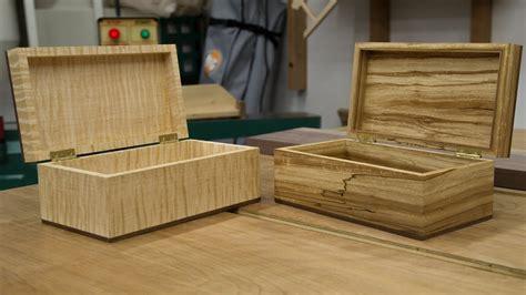 wooden box  youtube