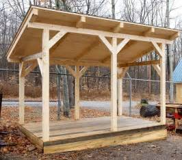 Wood Firewood Storage Shed Plans