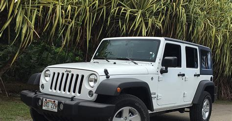 white jeep 2016 2016 jeep wrangler unlimited sport white front photos