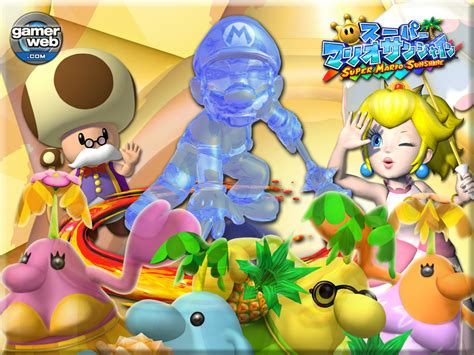 Super Mario Sunshine Wallpapers Group 62