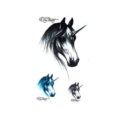 tatouage licorne tatouage ephemere licorne faux tatouage