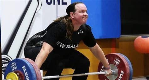 male  female transgender weightlifter wins silver
