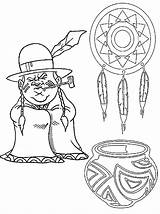 Coloring Native Indian Pages American Thanksgiving Indians Printable Hopi Homes Printables Sheet Tribe Popular Even Check Templates Coloringhome Template Central sketch template