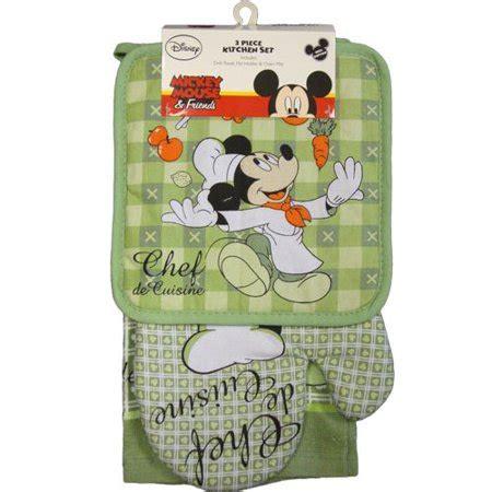 disney kitchen towels disney kitchen towel set chef de mickey walmart