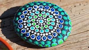 Mandala Steine Bemalen Mein Schner Garten