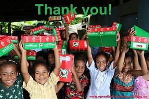 Operation Christmas Child - Shoebox Appeal