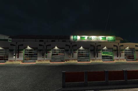 r l carriers garage ats truck simulator 2 mods