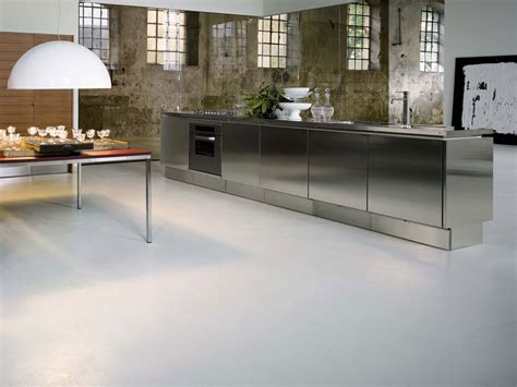 stainless steel kitchen cabinets   elam digsdigs